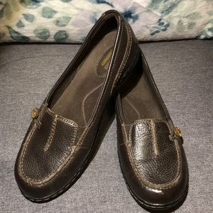 Clarks Leather Loafers/Flats